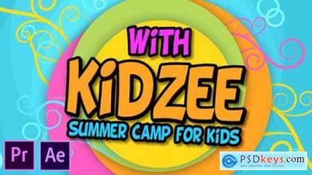 Kidzee Summer Camp For Kids Premiere Pro 27010634