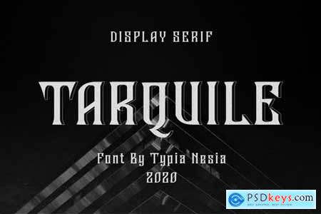 Tarquile - Game Display Font