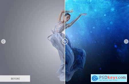 Underwater Photoshop Overlays 4736171