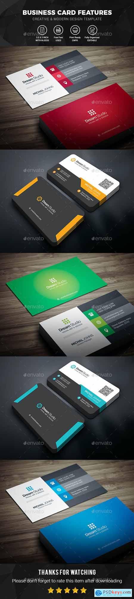 Business Cards Bundle 25512959