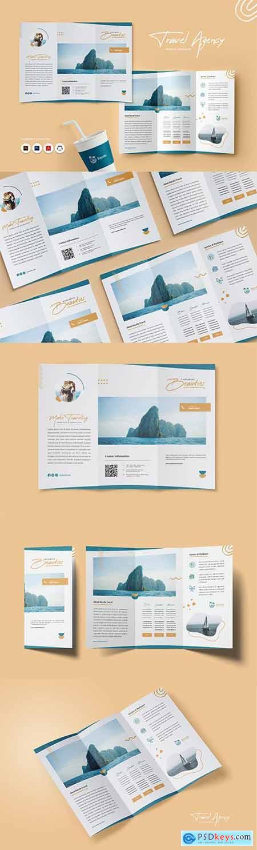 Travel & Adventure Trifold Brochure