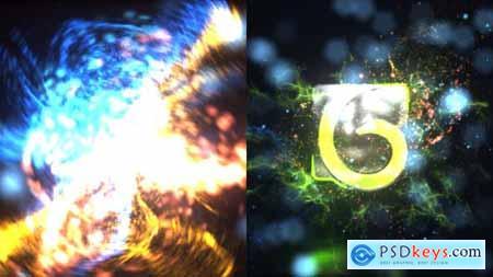 Particles Blast Logo Reveal 25607919
