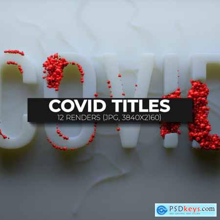 COVID related organic titles