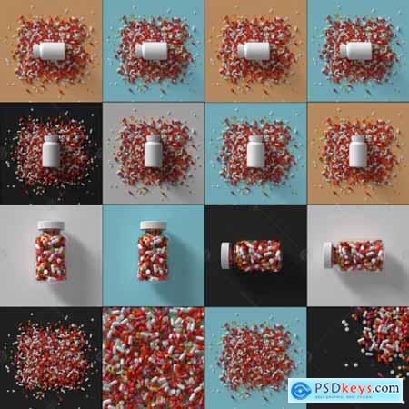 Pills Render Set
