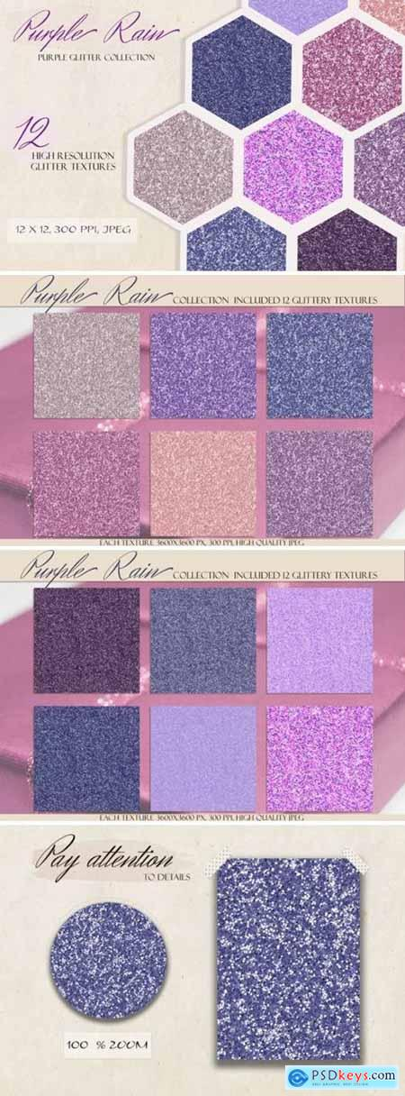 Purple Rain Glitter & Shimmer Kit 4327220
