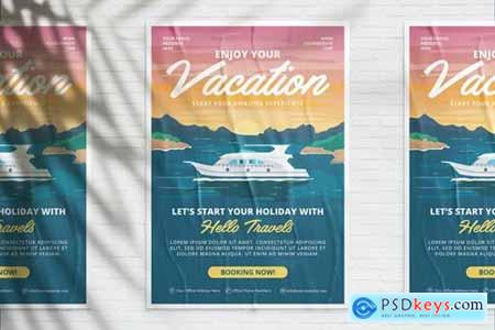 Enjoy Your Vacation Flyer