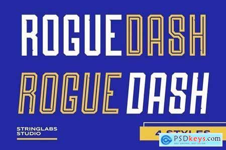 Roguedash - Stylish Sans Font Family 5040021