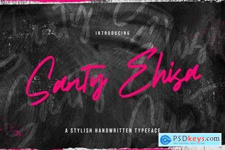 Santy Ehisa - Stylish Script Font 5040711