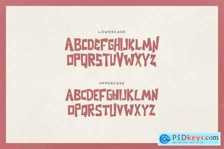 Nezuko Typeface 5035742