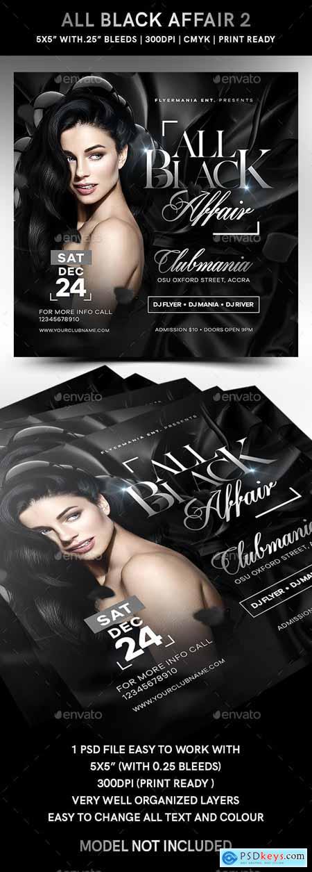 All Black Affair Flyer 2 24630165