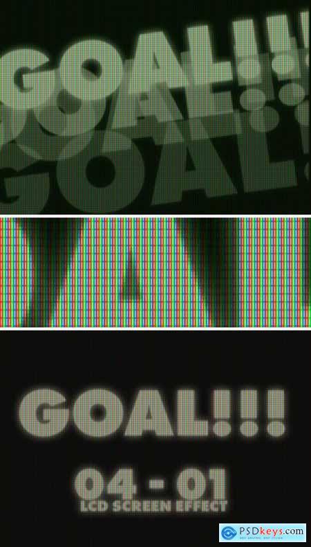 Football Stadium LED Screen Effect Mockup 356998702