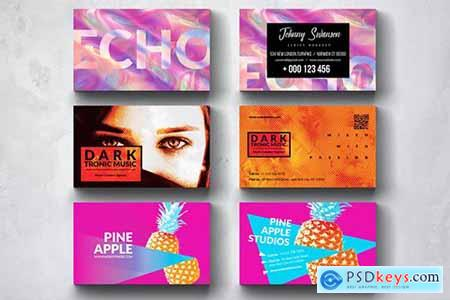 Creative Multipurpose Business Card Design Set 2