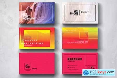 Creative Multipurpose Business Card Design Set 4
