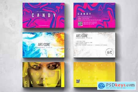 Creative Multipurpose Business Card Design Set 5