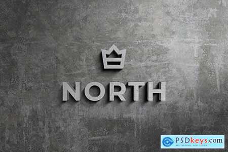 3D Logo and Sign Mockup