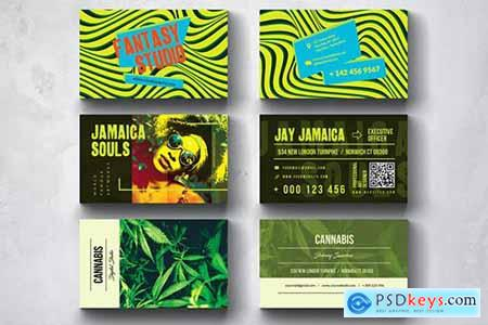 Creative Multipurpose Business Card Design Set 9