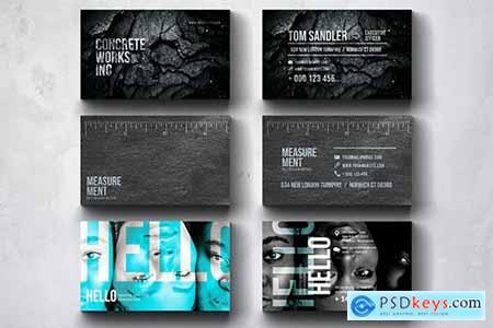 Creative Multipurpose Business Card Design Set