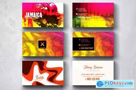 Creative Multipurpose Business Card Design Set 6
