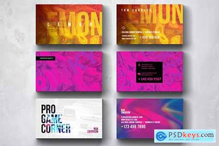 Creative Multipurpose Business Card Design Set 3