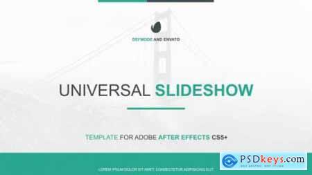 Universal Slideshow Presentation 17168306