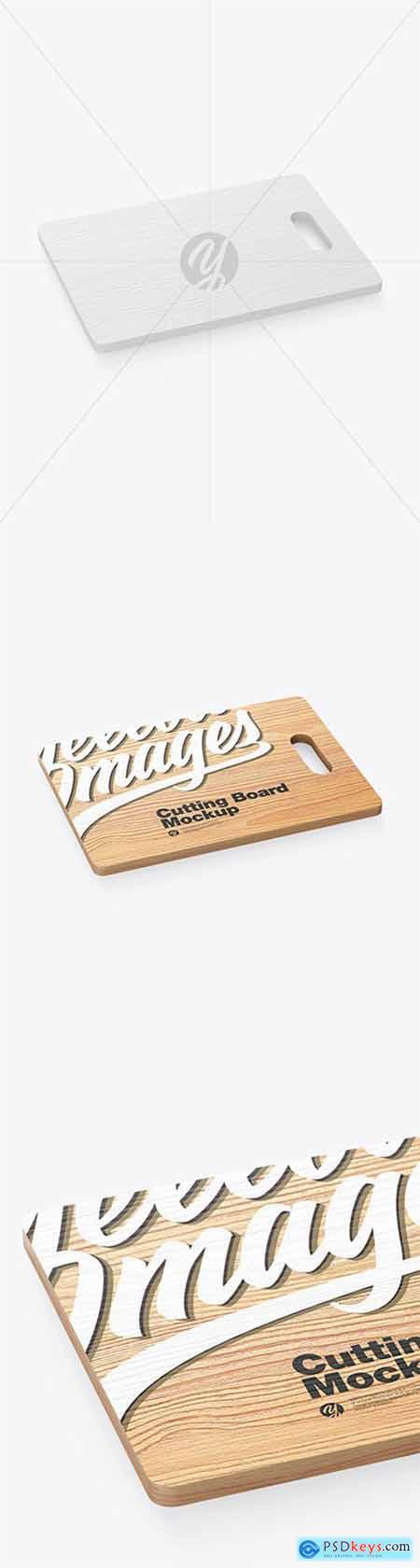 Wooden Cutting Board Mockup 60840