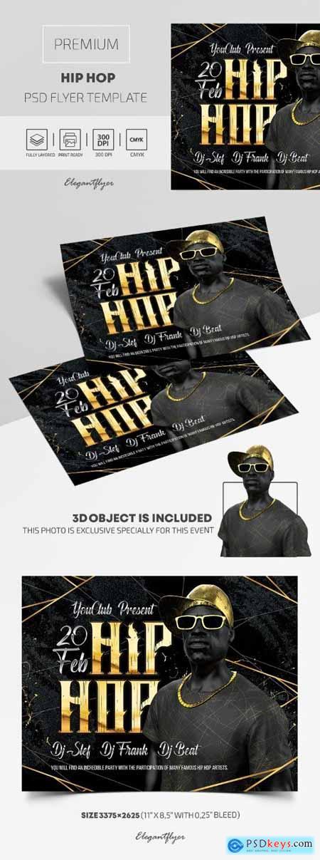 Hip Hop – Premium PSD Flyer Template