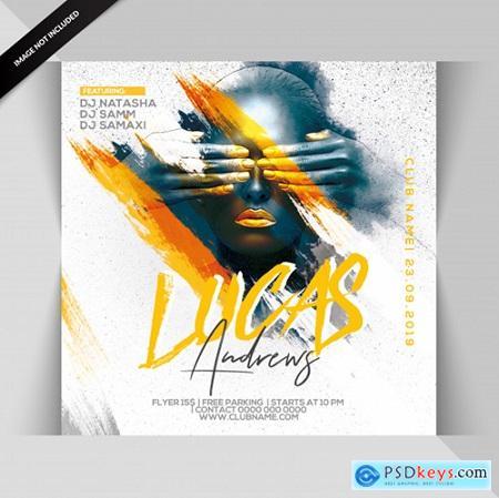 Dj party flyer Premium Psd559