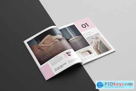 Lookbook Brochure Template 5027337