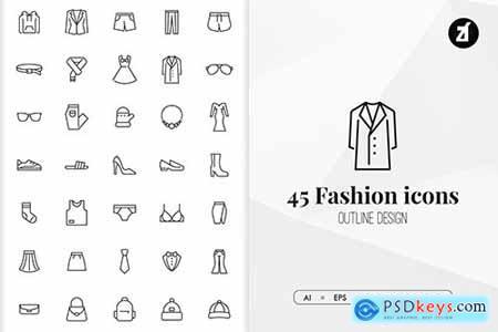 45 Fashion elements in minimal design