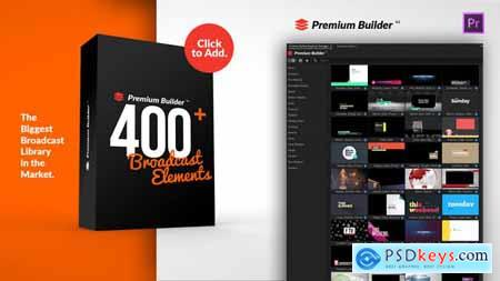 PremiumBuilder Broadcast Packages for Premiere Pro 24667499