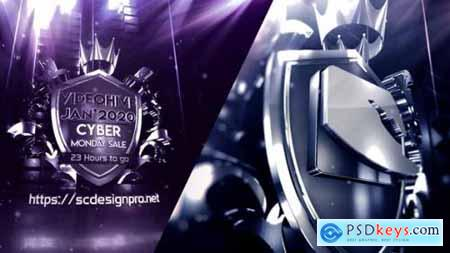 Metal Badge Logo 24955563