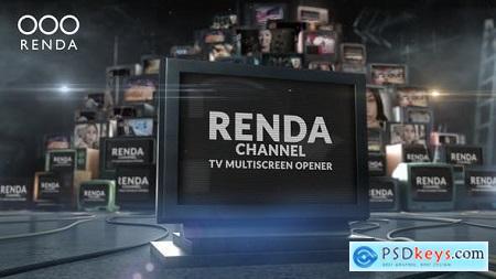 Tv Video Multiscreen Opener 23933125