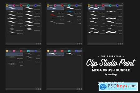 Clip Studio Paint Mega Bundle 4456286
