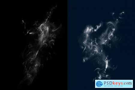 Photoshop Smoke Brushes Set 4461002
