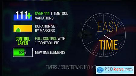 Easy Time - Timer - Countdown Toolkit 624150