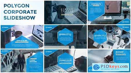 Simple Polygon Corporate Slideshow 20441407