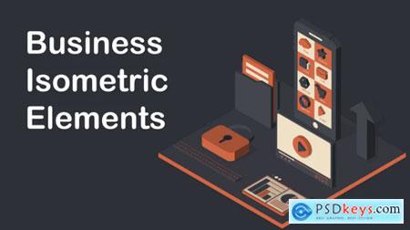 Business Isometric Elements 619395