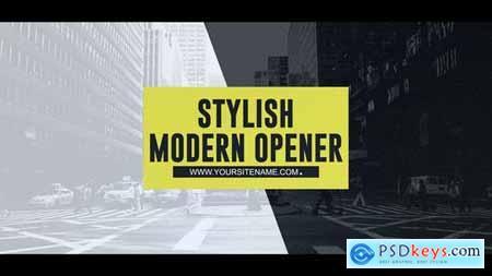 Stylish Modern Opener 23526182