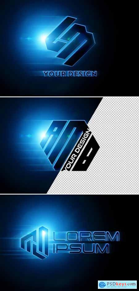 Movie Style Logo Effect Mockup 358111938
