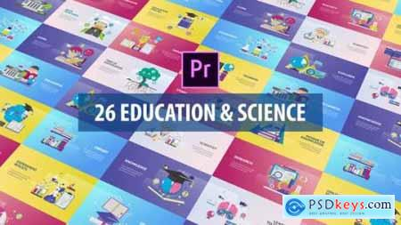 Education and Science Animation Premiere Pro MOGRT 27223694