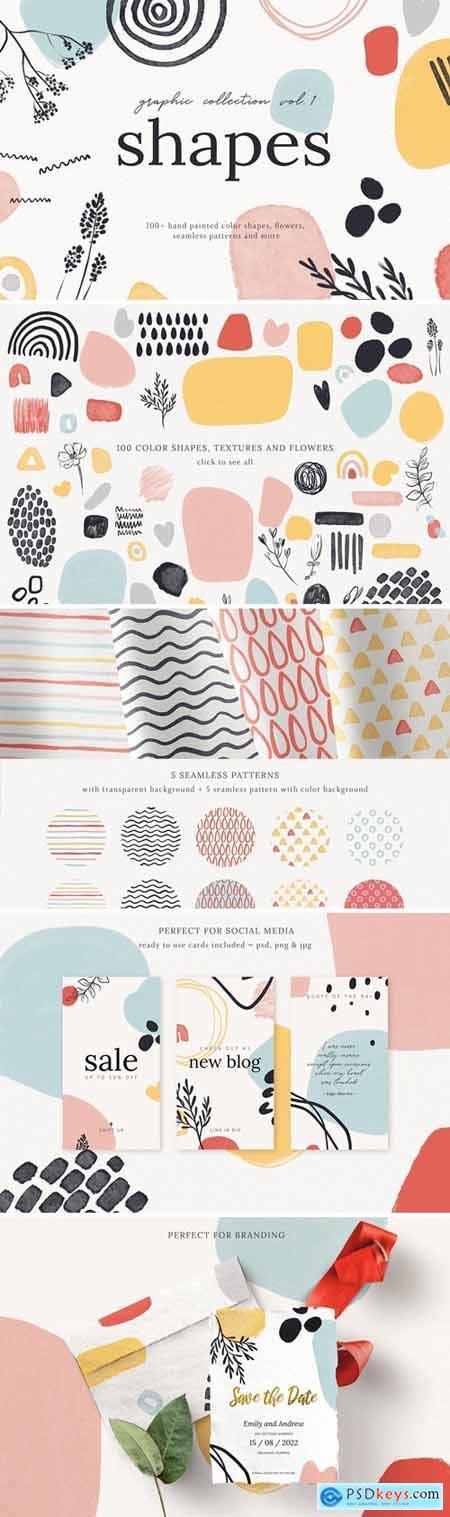 Abstract Shapes Print Graphics Vol.1 4940854