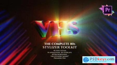 The Complete 80s Title Toolkit For Premiere Pro MOGRT - 27243529