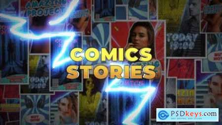 Comics Instagram Stories - Premiere Pro 27195288