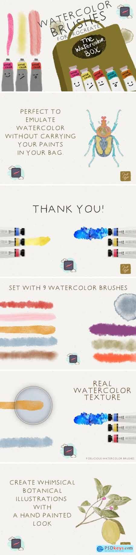 The Procreate Watercolor Box 4406653