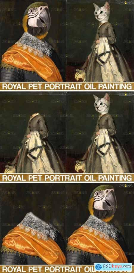 Royal Pet Portrait Templates Vol.5 4406013
