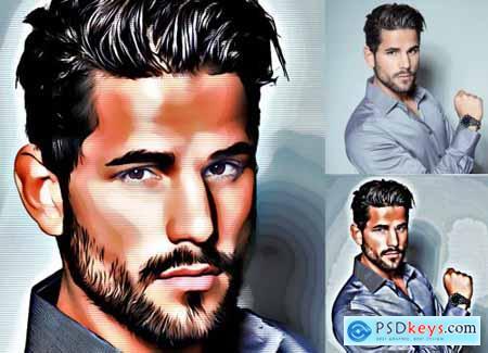 Pop Art Effect Photoshop Action 4537604