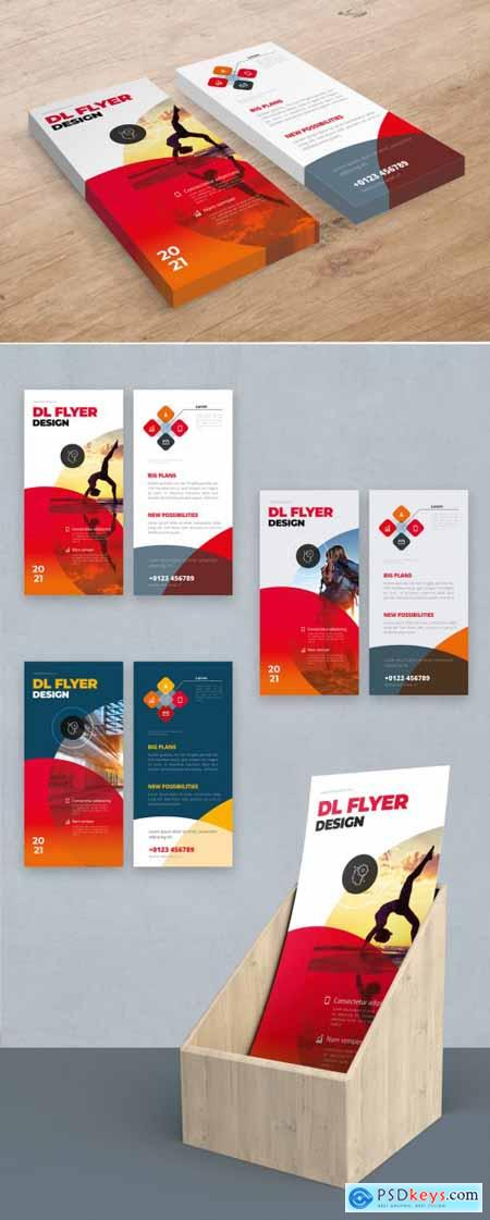 Red DL Flyer Layout with Circles 357916006