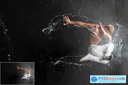 130 Water Splash Photo Overlays 4667763