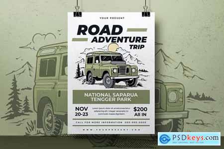 Adventure Trip Tour Flyer