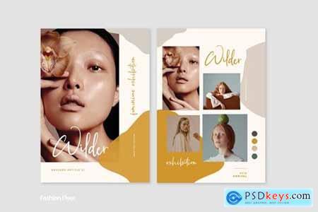 Cd Mood Fashion Flyer